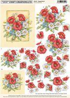 Craft Creations Poppy Panel