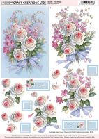 Craft Creations Pale Roses
