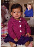 Sirdar Babies Cardigan & Jacket pattern Number 1956