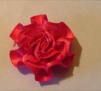 swirl roses shocking pink
