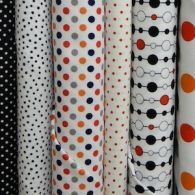 Spots and Dots Cotton Fabric