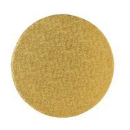 Gold 8Inch Round Cake Board