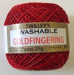 Twilleys Goldfingering 25g Col 38 Red