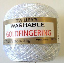 Twilleys Goldfingering 25g Col 10 white