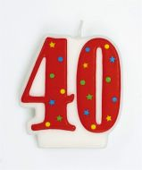 Number Candle 40