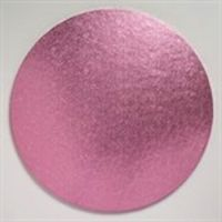 Cake Board 12mm Pink 12 inch Round