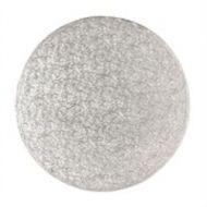 Cake board Silver 12mm round 12Inch