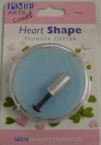 Pme Metal Heart Plunger Medium