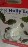Pme Veined Holly Leaf Plunger Cutter Small.