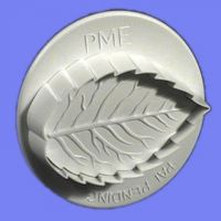 PME Veined Rose Leaf Plunger Cutter Small