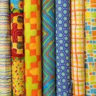 Bright & Colourful Cotton Fabrics