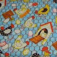 Blank Quilting Barnyard Bunch Hens