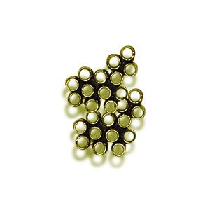 2mm Gold Crimp Bead