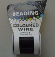 Impex Beading Wire 28# Black
