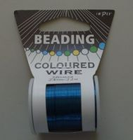 Impex Beading Wire 28# Blue