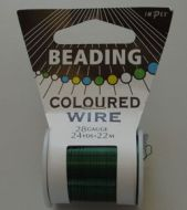 Impex Beading Wire 28# Green
