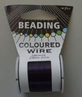Impex Beading Wire 28# Purple