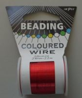 Impex Beading Wire 28# Red
