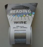 Impex Beading Wire 28 Gauge Silver