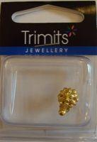 Trimits Flower Necklace Clasp Gold