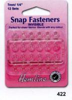 Nylon Snap Fasteners 7mm