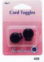 Cord Toggle Black