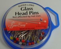 Glass Head Super Long Pins