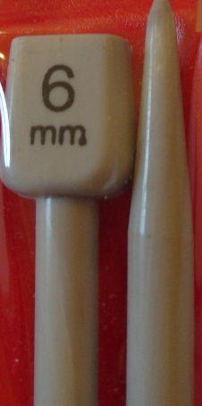 6.00mm /35cm Knitting Needles