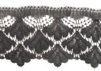 45mm Black Nylon Lace