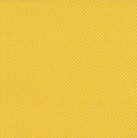 Makower White Dot on Yellow