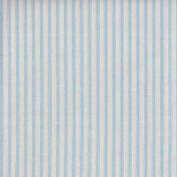 Makower Blue Ticking Stripe