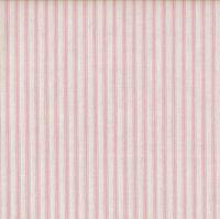 Makower Pink Ticking Stripe