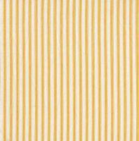 Makower Yellow Ticking Stripe