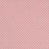 Makower White Spot on Pink