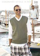 Sirdar Mens Sweater & Tank Pattern No 9280