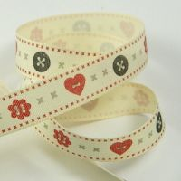 Berisford Ribbon Hearts & Buttons