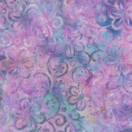 Moda Baja Breeze Batiks Lilac/Blue