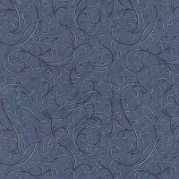 Moda Town Square Dark Blue Swirls