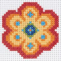 Anchor 1st Cross Stitch Kit Flower