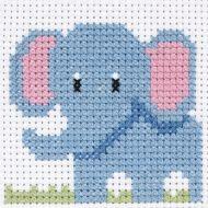 Anchor 1st Cross Stitch Kit Elephant