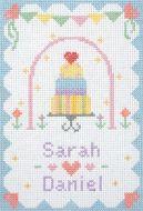 Anchor  Wedding Cross Stitch Starter Kit: