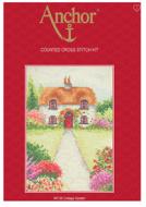 Anchor Cottage Garden Cross Stitch Starter Kit: