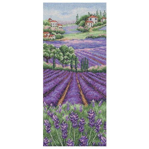 Anchor Provence Lavender Scape Cross Stitch Kit: