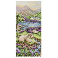 Anchor Highlands Landscape Cross Stitch Kit: