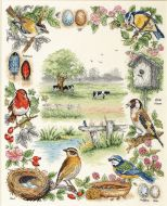 Anchor Birds Cross Stitch Kit: