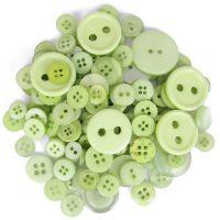 Trimits Mixed Buttons light Green