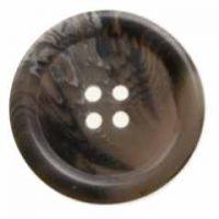 Button H04093652 Grey Bone Effect