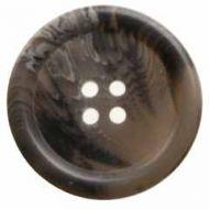 Button H04094452 Grey Bone Effect
