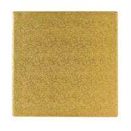 Gold 8 inch Square Cake Board
