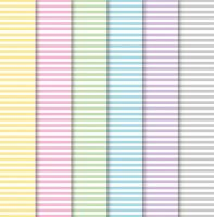 Mixed Paper Sheets Candy Stripe